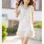 เดรสสั้นจาก Tokyo fashion ผูกโบว์แบบผีเสื้อที่หน้าอก - เขียว thumbnail 6