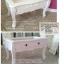 โต๊ะลิ้นชักรับเเขก วินเทจสีขาว สำหรับบ้าน ร้านค้า thumbnail 3