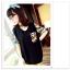เสื้อยืดแฟชั่นเกาหลีพิมพ์ลายใหม่ จะใส่เป็นเสื้อหรือว่าจะเป็นเดรสสั้น ก็เก๋ไม่ซ้ำใคร thumbnail 1