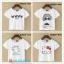 collection เสื้อยืดพื้นขาว สกรีนลายนิดๆ ดูสบายตา set 4 thumbnail 1