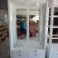 ตู้โชว์กระจกใสรอบวินเทจ สีขาว สำหรบบ้าน ร้านค้า thumbnail 2