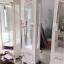 ตู้โชวกระจกใส วินเทจ สีขาว สำหรับบ้านเเละร้านค้า thumbnail 1