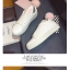 รองเท้าผ้าใบแฟชั่น ทรงสวย พร้อมลิ้นรองเท้ารูปหูสัตว์ ดูน่ารักตามกระแสไม่เบา thumbnail 3