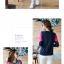 เสื้อยืดแขนยาวแฟชั่น สีสันจี๊ดๆ ตัดกันอย่างโดดเด่น ผ้านิ่ม น่าใส่มากๆ thumbnail 6