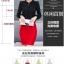 เสื้อชีฟองใหม่ สไตล์สาวเกาหลี ปกสูงแต่งด้วยลูกไม้ กับสีพื้นยอดนิยม ขาว - ดำ - แดง thumbnail 5