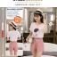 ชุดเสื้อพร้อมกางเกงเข้าเซท สีหวานๆ สไตล์น่ารัก ปรับลุ๊คให้ดูเด็กจริงๆ thumbnail 5