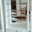 ตู้โชว์วินเทจกุหลาบสีขาวสำหรับร้านค้า thumbnail 7