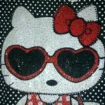เสื้อ เดรส คิตตี้ kitty ประดับคริสตัล ไซส์ xxl