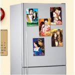 แม่เหล็กติดตู้เย็นรูปปกหนังสือ