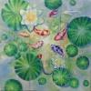 ภาพวาดปลาค๊าฟภาพสี ติดบ้าน