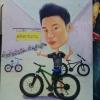 ภาพล้อ หนุ่มหล่อคู่จักรยาน