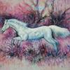 ภาพม้า สีอะคริลิค Horse Acrylic color