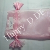TSB-AN35 ขนาด 3x5 นิ้ว (7.6x12.7 cm)ถุงผ้าแก้ว ถุงผ้าไหมแก้ว (มีหลายสี )