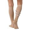 ถุงเท้าลดน่อง ป้องกันเส้นเลือดขอดและอาการปวดขา (สีเนื้อ) Free Size ลดเซลล์ลูไลท์ เส้นเลือดขอด รอยแตกลาย นาโน อินฟราเรด