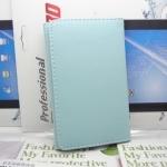 เคสไอโฟน 4/4s (Case Iphone 4/4s) เคสกระเป๋าหนังสีฟ้า