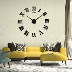 นาฬิกาDIY ขนาดจัมโบ้90cm สีดำ big9A