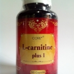 L-Carnitine Plus I (50 เม็ด) กล้ามเนื้อฟิตกระชับ ลดน้ำหนัก เร่งระบบการเผาผลาญ