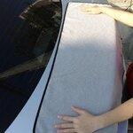 ผ้าซับน้ำ ยี่ห้อ Indy Microfiber รุ่น Waffle Weave 50x100 cm