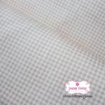 ผ้าคอตตอนไทย 100% 1/4 เมตร ลายตารางเล็กสีชมพูหวาน