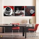 ภาพแต่งห้องอาหาร กาแฟดำ art161