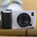 เคสไอโฟน4/4s (Case Iphone4/4s)  Hard Case (  i camera case กล้องถ่ายรูป สีขาว)