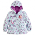Anna and Elsa Hooded Jacket for Girls - Frozen
