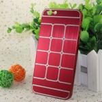 เคสไอโฟน 6 เคสไอโฟน Hard Case กรอบอลูมิเนียมสีแดง