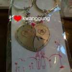 พวงกุญแจตู่รัก นาฬิกาหัวใจคู่43