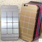 เคสไอโฟน 6 เคสไอโฟน Hard Case กรอบอลูมิเนียมสีเงิน