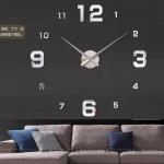 นาฬิกาDIY ขนาดจัมโบ้90cm สีเงิน big3B