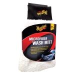 ไมโครไฟเบอร์ ถุงมือล้างรถ Meguiar's Microfiber Wash Mitt