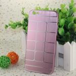 เคสไอโฟน 6 เคสไอโฟน Hard Case กรอบอลูมิเนียมสีชมพู