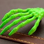 กิ๊ฟติดผม มือสีเขียว