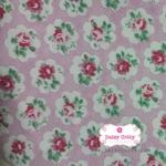 ผ้าคอตตอนไทย 100% 1/4 เมตร สีชมพู ลายcath kidston