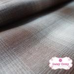 ผ้าทอญี่ปุ่น 1/4เมตร ลายสก็อต สีโทนน้ำตาล