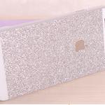 เคสไอโฟน 6 เคสไอโฟน Hard Case กากเพชรสีเงิน