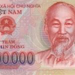 ธนบัตรเวียดนามเหนือ รหัส P123a ชนิด 200000 ดอง สภาพ UNC ไม่เคยผ่านการใช้งาน ปี 2014