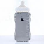 เคสไอโฟน 6 (TPU Case เคสนิ่ม) ขวดนมสีขาว