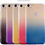 เคสไอโฟน 7Plus (TPU Case) สีทอง