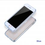 เคสไอโฟน 7 (เคสนิ่มประกบ) ป้องกัน 360 องศา สีฟ้าใส