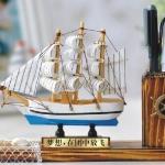 ที่ใส่ปากกา เรือสำเภา ยาว21cm Tree15