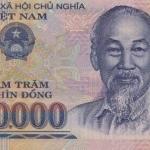 ธนบัตรเวียดนามเหนือ รหัส P124j ชนิด 500000 ดอง สภาพ UNC ไม่เคยผ่านการใช้งาน ปี 2015
