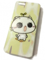 เคสไอโฟน 5C (Hard Case) เหมียวน้อยจอมซน