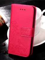 เคสไอโฟน 7 (Wallet Case) Pink