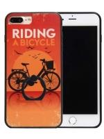 เคสไอโฟน 7 (Silicone Bumper and Hard Case Back) พร้อมห่วง แบบ 7