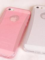 เคสไอโฟน 6 เคสไอโฟน TPU Case สีชมพู