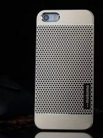 เคสไอโฟน 6 Plus เคสไอโฟน Hard Case Motomo กรอบอลูมิเนียมเกาหลีลายจุด สีทอง