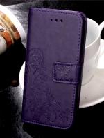 เคสไอโฟน 7 (Wallet Case) PURPLE