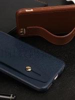 เคสไอโฟน 7 Plus ( Silicone Case) พร้อมที่วางฝ่ามือ สีกรมท่า
