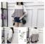 เสื้อแฟชั่นสีทูโทน ดีไซน์เหมือนมีผ้าคลุมไหล่ และเจาะช่องไว้ให้สวมสร้อยทรงยาวดูเก๋ๆ คร่าา thumbnail 13